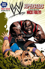 WWE SUPERSTARS #1 1ST PRINT COVER C SUPER GENIUS MARK HENRY CENA BY MICK FOLEY