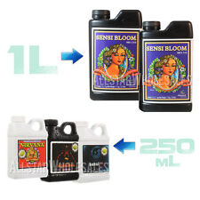Advanced Nutrients 1L Sensi Bloom A B + 250mL Tarantula Sensizym Nirvana Bundle