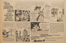 1967 Marlin 22 Rifle~Gun Sitting Bull Sioux Indian~Annie Oakley Hunting AD