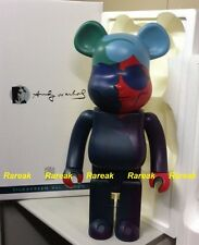 Medicom 2015 Be@rbrick Andy Warhol 1000% Silk Screen ver. Bearbrick 1pc