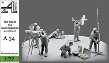 A34 Alexminiatures 1/72 The scouts and reconnaissance ecuipment model Gusev