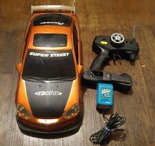 Radio Shack 60-4342 Super Street Acura RSX RC Remote Control Car AS-IS FOR PARTS