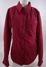 2014 NWOT WOMENS BILLABONG JAMIE ANDERSON LIGHT JACKET $60 S maroon red