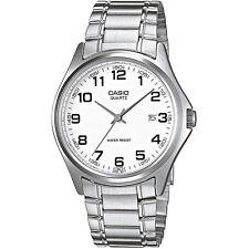 Casio Herrenuhr MTP-1183PA-7B Armbanduhr Edelstahl Silber Datum watch NEU & OVP