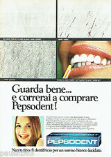 PUBLICITE ADVERTISING 046  1969  le dentifrice Pepsodent