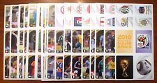 SET COMPLETO 195 MINI STICKERS PANINI W.C. SOUTH AFRICA 2010