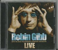 Robin Gibb - With the Frankfurt Neue Philharmonic Orchestra: Live New Sealed CD