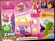Fisher-Price Little People Disney Princess Musical Dancing Palace BNIB