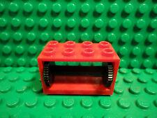 Lego 1 Red 2x4x2 string reel winch holder excludes string car truck crane NEW