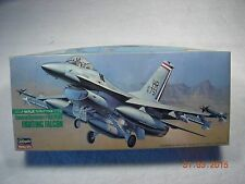 HASEGAWA GENERAL DYNAMICS F-16A PLUS 1/72 SCALE 1985 ISSUE