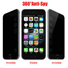 Privacy Anti-Spy Real Tempered Glass Screen Protector Shield for iPhone 6 6S