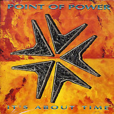 It's About Time [Point of Power] New CD