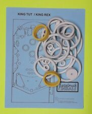 1970 Bally King Tut / King Rex pinball rubber ring kit