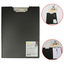 PVC Fold Over Clipboard Board Cover Fits A4 Foolscap Documents File Protector