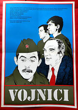 SOLDIERS 1984 VOJNICI BALASEVIC KARADZIC VUJISIC VOJINOVIC EXYU MOVIE POSTER