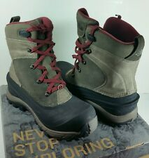 The North Face Mens Outdoor Trail Winter Snow Chilkat II Boot BROWN SZ 9 NEW NIB