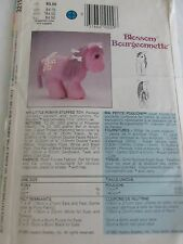 "B 3211 Sewing Pattern 11"" My Little Pony ""Blossom"" sew Hasbro stuffed Animal Toy"