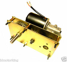 High Torque 12V DC 5RPM Conveyor and BBQ Rotisserie Smoker Gear Motor Reversible