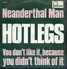 7inch HOTLEGS neanderthal man HOLLAND EX +PS