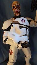 """HORROR STAR WARS Custom 12 inch Figure """"CLONE TROOPER Z"""" ZOMBIE  by Screwy Luie"""