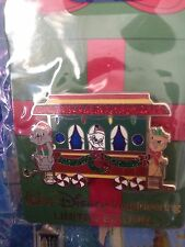 Aristocat Marie Berlioz Toulouse Holiday Christmas Train Disney WDI Cast LE Pin