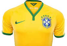 Nike Authentic Brazil Home Jersey 2014 Player Issue Size Small