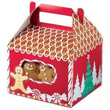 Gingerbread Cottage Tent Cookie Boxes 3 ct  from Wilton #1903  - NEW