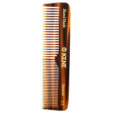 Kent Handmade Comb OT - 113 mm Coarse and Fine Mens Pocket Comb