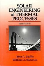 Solar Engineering of Thermal Processes, John A. Duffie, William A. Beckman, Good