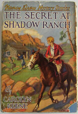 Nancy Drew #5 SECRET AT SHADOW RANCH Original Text 4 Internals Carolyn Keene