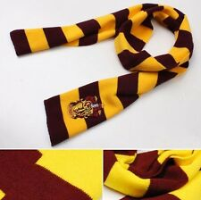 Harry Potter Gryffindor House Cosplay Knit Wool Scarf Wrap for Costume Party