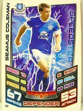 Match Attax 2012/13 Premier League - #061 Seamus Coleman - Everton