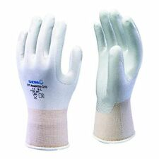 SHOWA 370 Assembly Grip Nitrile Palm WHITE Gloves 7/M  -  1 Pair