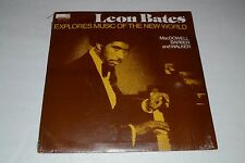 Leon Bates Explores Music of the New World~MacDowell, Barber, and Walker~Orion