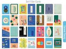FOREVER YOUNG Edition New 30 Project Life  Partial Core Kit Cards