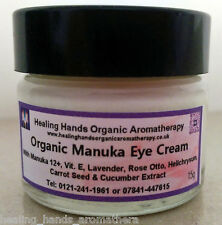 Organic Aloe Vera Uplifting Eye Cream with Manuka 12+ Honey - 15g
