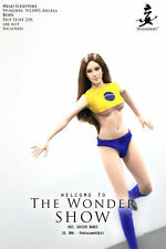 WONDERY THE WONDER SHOW SOCCER/FOOTBALL BABES BRA/BRAZIL FOR 1/6 FIGURES