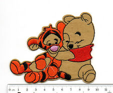 kiTki Disney Winnie the Pooh Tigger tiger iron-on embroidered patch emblem