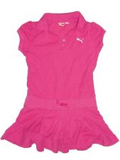 Puma Girls Pink Pleated Dress (Size: M)