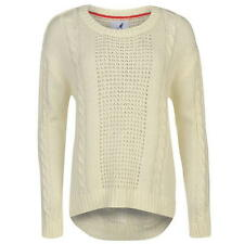 Kangol Cable Knit Jumper Ladies SIZE 8