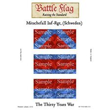 Battle Flag - Mitschefall Infantry Regiment (Thirty Years War) - 28mm