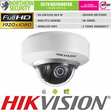 Hikvision DS-2DE2202-DE3/W Mini Ptz 2MP 1080P POE ONVIF Cámara IP WiFi P2P HD