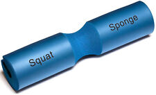"NEW BLUE Squat Sponge Olympic Barbell Padding Weight Lifting Bar Pad 18"" Long"