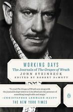 Working Days : The Journals of the Grapes of Wrath by John Steinbeck (1990,...