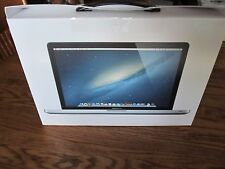 MacBook Pro A1286 15.4 MD103LL/A 2012 BOX ONLY Very Nice Condition
