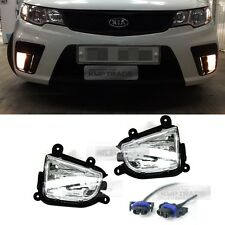 OEM Front Bumper Fog Light Lamp + Wiring for KIA 2010 - 2013 Cerato Forte Koup
