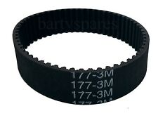 Toothed Planer Drive Belt For Black & Decker KW715 KW713 BD713 X40515 117-3M