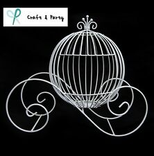 Wire Cinderella Pumpkin Carriage Centerpiece for Weddings, Events, Decoration
