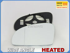 Wing Mirror Glass MERCEDES SLK R172 2011+ Wide Angle HEATED Left Side