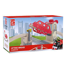 Wooden LIFTING BRIDGE Set Train Toddler Toy HAPE 3 Years+ Brio Compatible